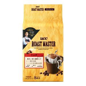 UCC ROAST MASTER ドリップコーヒー リッチforLATTE 64g(8g×8袋)×12個入り (2ケース) (KT) T-富士薬品PayPayモール店