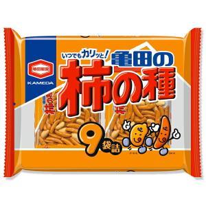 亀田製菓 亀田の柿の種 9袋詰(265g)×12パック(1ケース)(YB)