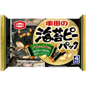 亀田製菓 海苔ピーパック 4袋詰×12パック(1ケース)(YB)