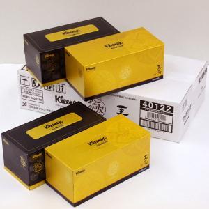 クリネックスティシュー 至高 極(きわみ) 4箱入りセット (SH) ケース販売