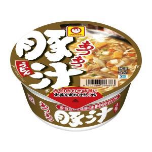 マルちゃん あつあつ豚汁うどん 12食入り×1ケース【クレジット決済のみ】KK