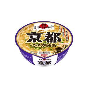 日清 麺ニッポン京都こってり鶏白湯 109g×12個入り (1ケース) (KT)