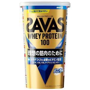 ザバス ホエイプロテイン100 バニラ 14食分 12個セット(1ケース)