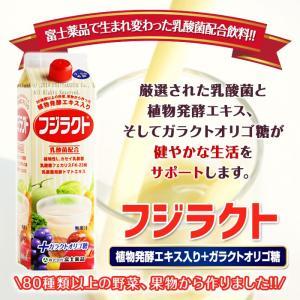 乳酸菌 乳酸菌配合飲料 植物発酵エキス フジラクト 1000ml|fujiyaku