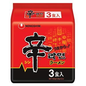 農心ジャパン 辛ラーメン3P×120g×12個(AH)
