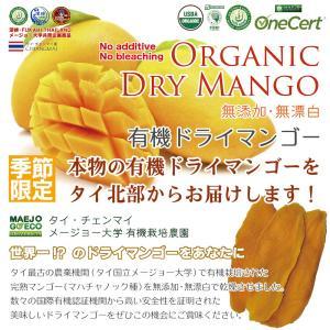 [各種国際有機認証取得] タイ国立メージョー大学農場で作った100%オーガニックドライマンゴー|fukahiasia