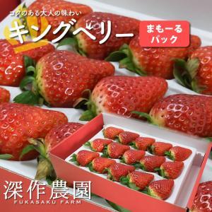 いちご イチゴ 苺 果物 ギフト 旬 フルーツ キングベリー 苺まもーるパック 1パック