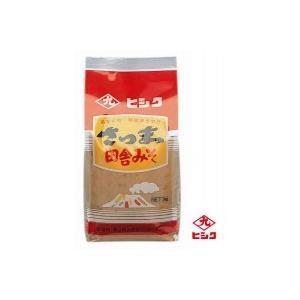 (同梱・代引不可)ヒシク藤安醸造 さつま田舎麦みそ(麦白みそ) 1kg×5個|fuki-fashion