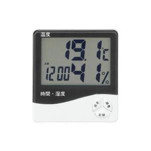 表示の大きな温湿度計|fuki-fashion
