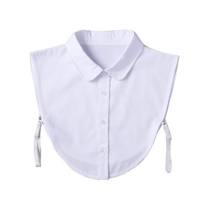 重ね着風つけ襟(白) fuki-fashion