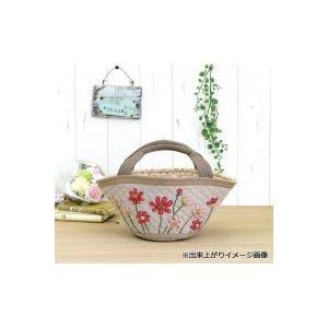 オリムパス 加藤礼子デザインシリーズ パッチワークキルトキット お花畑のバスケット PA-708|fuki-fashion