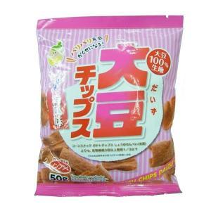 ノンフライ!  大豆チップス 梅 50g×10袋セット|fuki-fashion