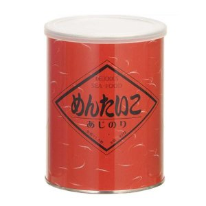 (同梱・代引不可)金原海苔店 国内産 黒磯味付け海苔 (全形11.5枚 8切92枚) 缶容器 めんたいこ(明太子風味) 3個セット  |fuki-fashion