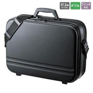 セミハードPCケース(ダブル) ブラック BAG-716BK2|fuki-fashion