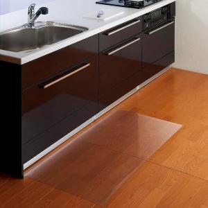 Belca(ベルカ) お手入れ簡単!クリアキッチン保護マット 60×120cm TU-OFM612|fuki-fashion