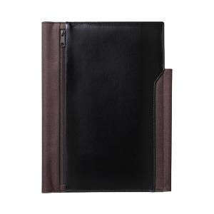 ビジネスを効率化する機能が満載のノートカバー。