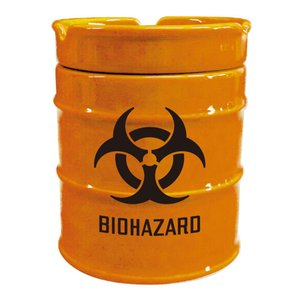 NEWドラム缶灰皿 BIOHAZARD AR-1426-5|fuki-fashion