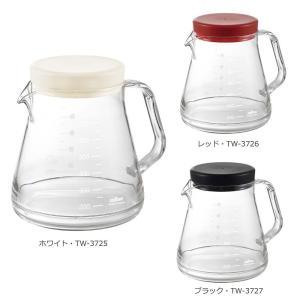 ガラスのように透明なのに割れにくい、コーヒーサーバー♪