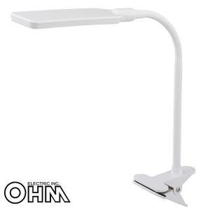 オーム電機 OHM LEDクリップライト 昼白色 ホワイト OAL-LN14G-W|fuki-fashion