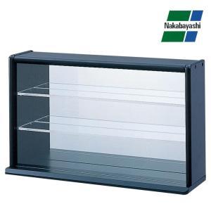 ナカバヤシ コレクションケース ミニワイド 透明アクリル棚板タイプ ブラック CCM-002D|fuki-fashion