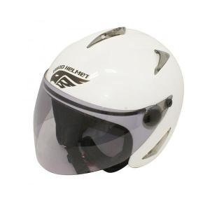 ダムトラックス(DAMMTRAX) BIRD HELMET ヘルメット PEARL WHITE|fuki-fashion