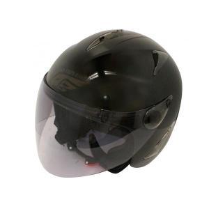 ダムトラックス(DAMMTRAX) BIRD HELMET ヘルメット PEARL BLACK|fuki-fashion