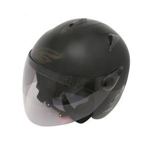 ダムトラックス(DAMMTRAX) BIRD HELMET ヘルメット MAT BLACK|fuki-fashion