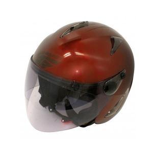 ダムトラックス(DAMMTRAX) BIRD HELMET ヘルメット MAROON|fuki-fashion