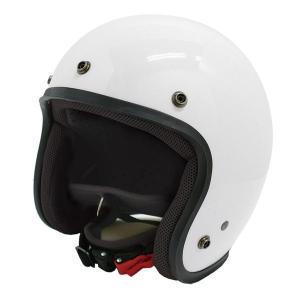 ダムトラックス(DAMMTRAX) JET-D ヘルメット PEARL WHITE MENS|fuki-fashion