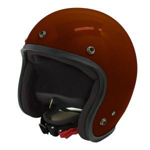 ダムトラックス(DAMMTRAX) JET-D ヘルメット MAROON MENS|fuki-fashion