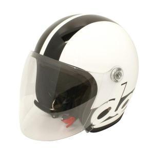 ダムトラックス(DAMMTRAX) JET-S DAMM&RAX dammtrax ヘルメット WHITE/BLACK|fuki-fashion