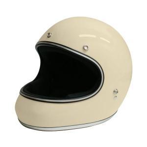 視界開放型のフルフェイスヘルメット。