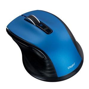 ナカバヤシ 小型 Bluetooth 静音5ボタンBlueLEDマウス ブルー MUS-BKF143BL|fuki-fashion
