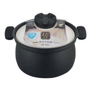 おもてなし和食 IH対応軽量炊飯鍋 2合炊 RA-9761|fuki-fashion