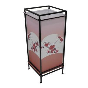 (同梱・代引不可)日本製 フロアランプ 行灯 ともしび HFL-052 W010|fuki-fashion