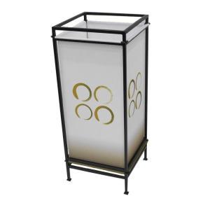 (同梱・代引不可)日本製 フロアランプ 行灯 ともしび HFL-052 W018|fuki-fashion