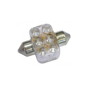 GLANZ LEDスーパービーム T10X31枕球/ホワイト・LED数6 GL999-310|fuki-fashion