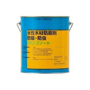 木材保護材 (水性)CPエコソート 3.2L fuki-fashion