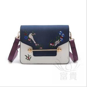カバン 鞄 レディースショルダーバッグ ショルダー 軽量 2WAY おしゃれ アウトドア 斜め掛け 旅行 刺繍 小さめ 可愛い シンプル|fuki-fashion