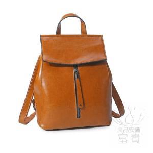 カバン 鞄 本革 ショルダーバック バックパック リュックバック グレー 2WAY ipad/mini 対応 肩掛け 斜め掛け 無地 旅行 通勤 通学|fuki-fashion