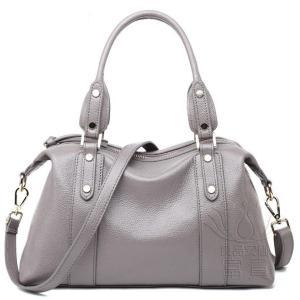 カバン 鞄 本革 ショルダーバック ビジネスバック 2WAY スタッズ 鞄 手持ち 肩掛け 大きめ 通勤 二次会 オシャレ カジュアル|fuki-fashion