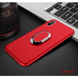iPhoneケース アイフォン8ケース アイフォン8PLUS アイフォンX アイフォン7 アイフォン7PLUS おしゃれ バンパー 無地 視聴スタンド つや消し|fuki-fashion