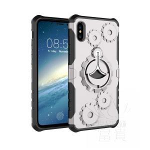 iPhoneケース アイフォン8ケース アイフォン8PLUS アイフォンX アイフォン7 アイフォン7PLUS おしゃれ バンパー 無地 視聴スタンド リング付き 単色|fuki-fashion