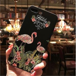 iPhoneケース アイフォン8ケース アイフォン8PLUS アイフォンX アイフォン7 アイフォン7PLUS おしゃれ ジャケット プリント 浮き彫り 自然風景|fuki-fashion