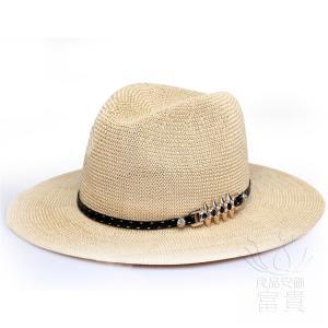 ハット キャップ 帽子  中折帽子 レディース 春夏秋 UVカット 通気性良い リベット飾り ストロ...