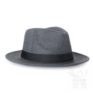中折帽子 メンズ 春夏秋 北欧風 レトロ 紳士 通気性良い つば広 優雅 上品 カジュアル コーディネートしやすい ファッション 地味 シンプル|fuki-fashion