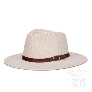中折帽子 男女兼用 春夏秋 UVカット イギリス風 紳士 つば広 ベルト飾り 通気性良い 小顔効果抜群 海、砂浜 地味 優雅 上品 カジュアル|fuki-fashion