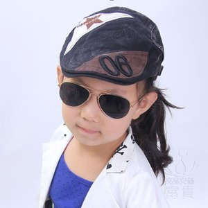 キッズ 春 夏 秋 カジュアル ハンチング、ハンティングキャップ 子供の帽子、新しい子供の帽子、新しい帽子、春の子供の帽子、新しい春の帽子 fuki-fashion