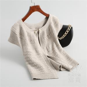 ニット セーター トップス レディース 長袖? オーバー ケーブル編み 丸首 オフショル フェミニン 通勤 おしゃれ|fuki-fashion