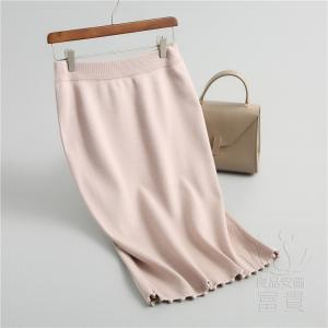 ニット セーター スカート レディース ミモレ 無地 スポーティー 通勤 暖かい 体型カバー おしゃれ|fuki-fashion